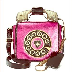 Betsey Johnson working phone purse